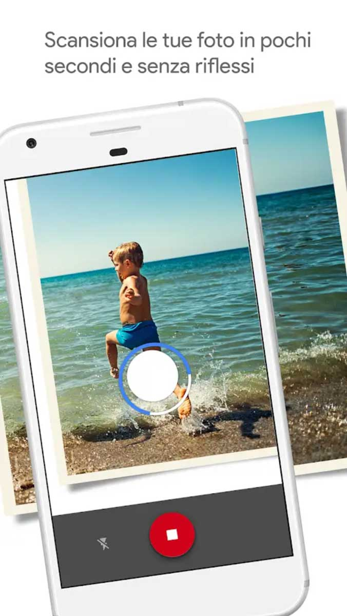 scannerizzare una foto con Google Photo Scan